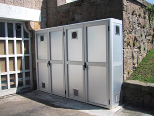 Decoracion mueble sofa armarios de exterior para terrazas for Armarios para terrazas